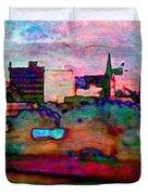 Hamilton Ohio City Art 10 Duvet Cover