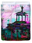 Hamilton Ohio City Art 16 Duvet Cover