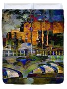 Hamilton Ohio City Art 7 Duvet Cover