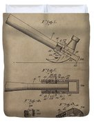 Hammer Patent Drawing Duvet Cover