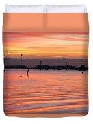 Hampshire Sunset Duvet Cover