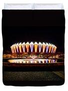 Hampton Coliseum Christmas Duvet Cover