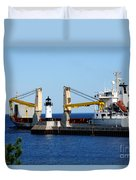Han Xin Ship Duvet Cover