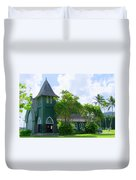 Hanalei Church Duvet Cover