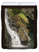 Hanawi Falls Duvet Cover