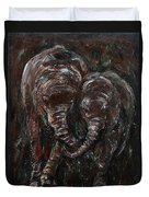 Hand In Hand Duvet Cover