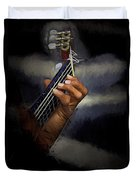 Hand Of A Spanish Guitarist Duvet Cover
