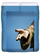 Hand Of Christ. Duvet Cover