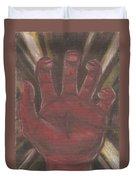 Hand Of God - Death Duvet Cover