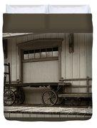 Handcarts Duvet Cover
