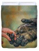 Hands Duvet Cover