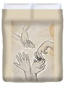 Hands Duvet Cover