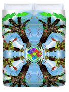 Hands Of Nature Duvet Cover