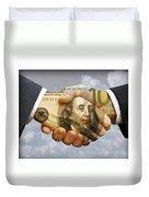 Handshake Duvet Cover
