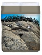 Handsome Jabba The Hut Rock  Duvet Cover