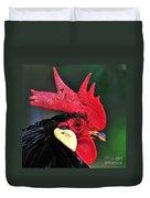 Handsome Rooster Duvet Cover