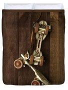 Hang Up Your Skates - Oil Duvet Cover