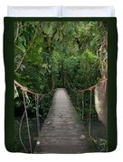 Hanging Bridge Duvet Cover