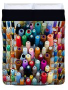 Hanging By Many Threads Duvet Cover