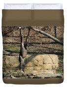 Hanging Chimp 365 Duvet Cover