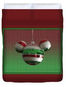 Hanging Mickey Ears 02 Duvet Cover