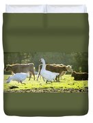 Hanging With The Herd Duvet Cover