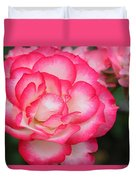 Hannah Gordon Floribunda Rose Duvet Cover