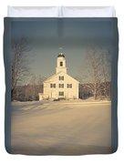 Hanover Center Church Etna New Hampshire Duvet Cover