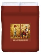 Hansel And Gretel Brothers Grimm Duvet Cover