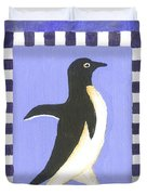 Hanukkah Penguin Two Duvet Cover