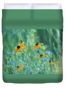 Happiness Is In The Meadows Duvet Cover