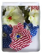 Happy 4th Of July America Duvet Cover