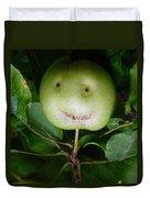 Happy Apple Duvet Cover