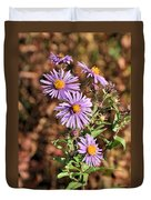 Happy Asters Duvet Cover