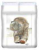 Happy Baby Elephant Duvet Cover
