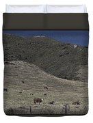 Happy Beef Cali Style Duvet Cover