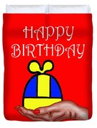 Happy Birthday 2 Duvet Cover by Patrick J Murphy