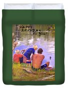 Happy Birthday To You Duvet Cover