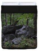 Happy Boulder Duvet Cover