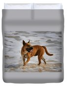 Happy Dogs 5 Duvet Cover