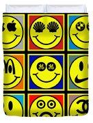 Happy Logos Duvet Cover