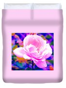 Happy Rose Duvet Cover