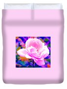 Happy Rose Duvet Cover