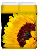 Happy Sunflower Duvet Cover