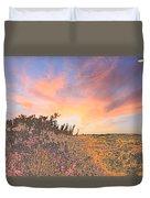 Happy Sunset Duvet Cover
