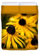 Happy Susans Duvet Cover