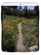 Happy Trails Duvet Cover