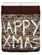 Happy Xmas Duvet Cover