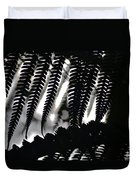Hapu'u Fern Silhouette Duvet Cover
