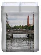 Harbor Bridge - Baltimore Harbor Duvet Cover